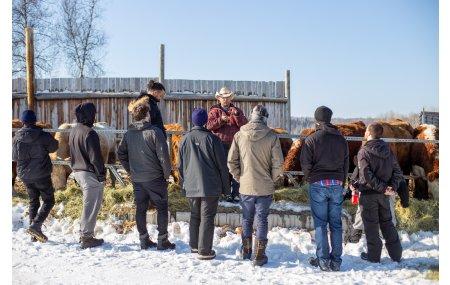 Panier découverte, visite à la ferme et hébergement
