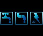 3 SERVICES (EAU-ÉLECTRICITÉ,ÉGOÛT)